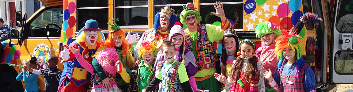 clowning for kids group